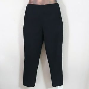 Talbots Stretch Petite Black Pants 12P